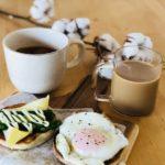 週末モーニング★遅く起きた日の朝ご飯